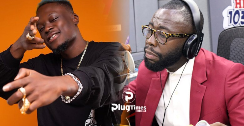 Andy Dosty sacks Okese 1 hitz fm interview