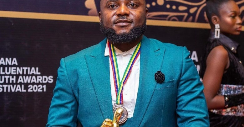 Chribs Drake Ghana Influential Youth Awards 2021