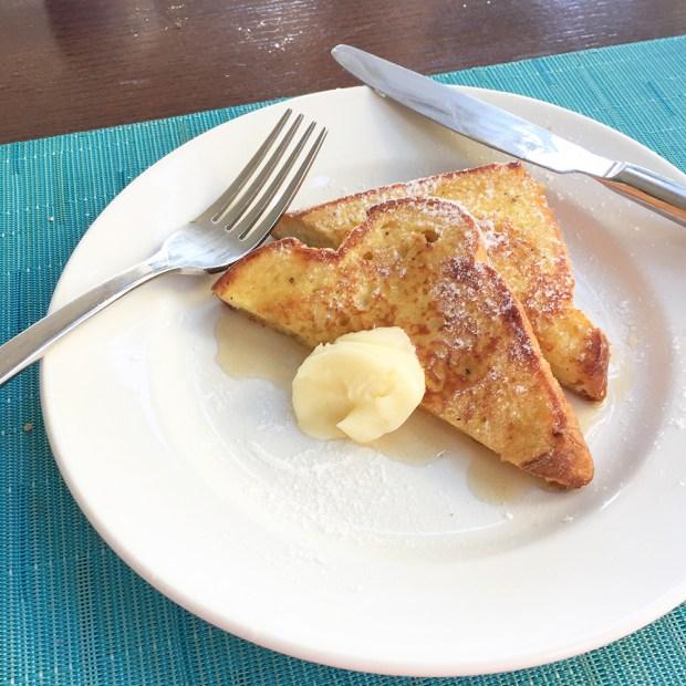 ザベランダのフレンチトースト