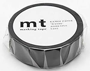 黒のマット素材のマスキングテープ