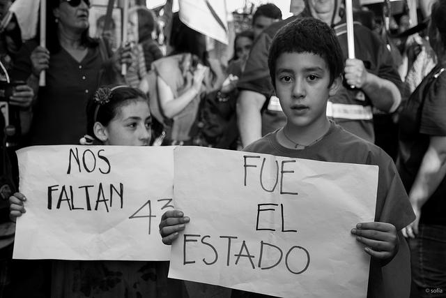 Uruguay con Ayotzinapa