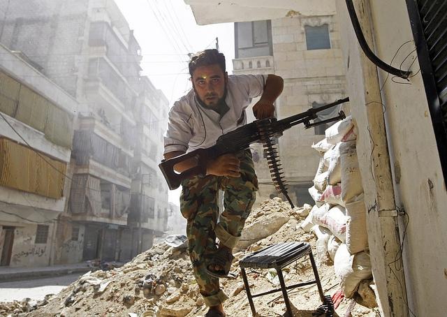 Conflicto armado en Siria. Foto: a.anis