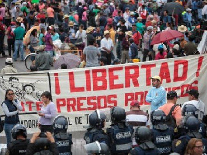 CNTE Manifestación