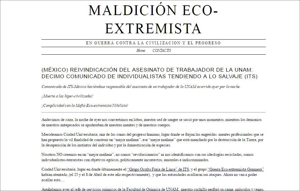 Ecoterroristas