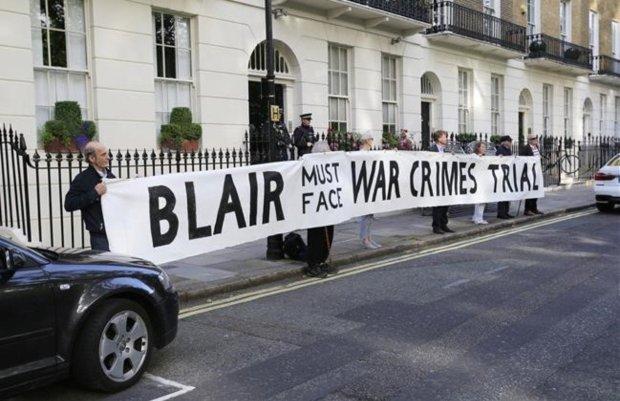 Blair crímenes de guerra