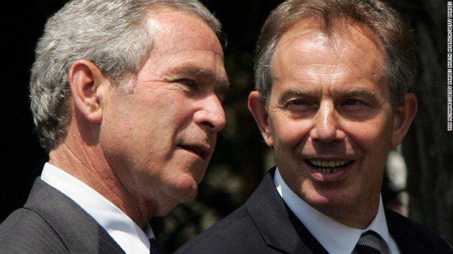 Bush y Blair 2