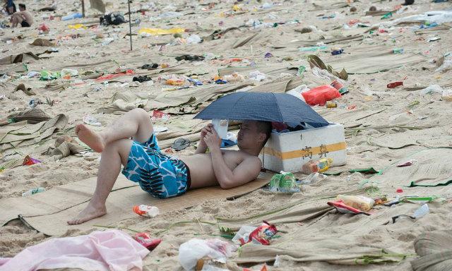Shangai basura