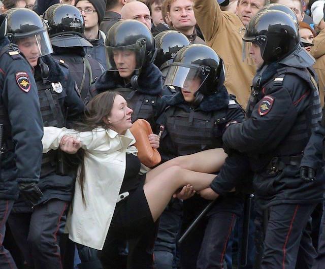 Nalvalny protesta
