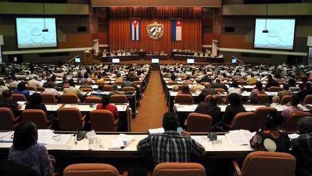 Parlamento de Cuba.
