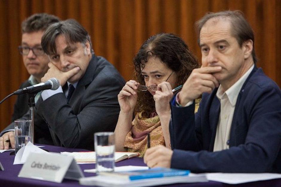 GIEI, Ayotzinapa, berisntain, expertos ayotzinapa, ayotzi, buitrago