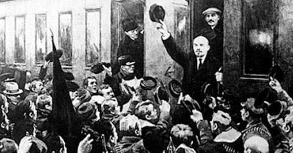Lenin pagó la revolución con condones
