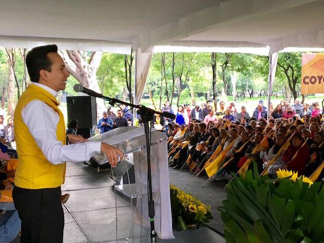 Delegación Coyoacán gasto