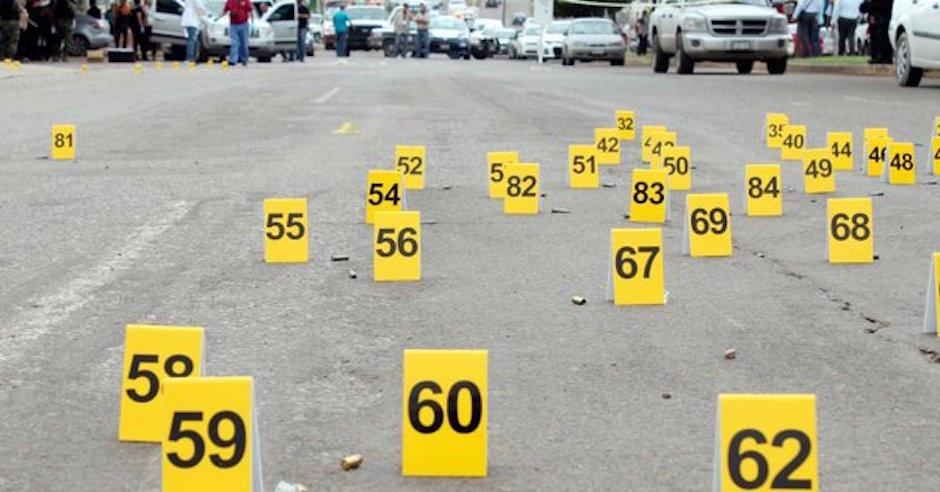 La tasa de homicidios se disparó en 2017