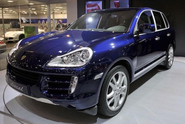 Porsche motores diesel