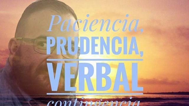 El poema que Javier Duarte recitó afuera del juzgado en Guatemala.