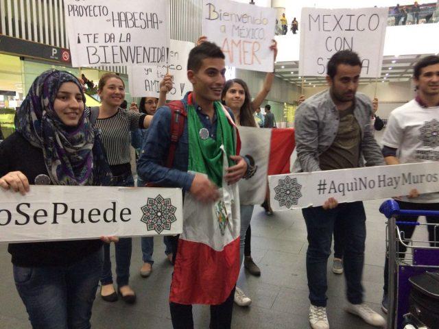 Siria refugiados México