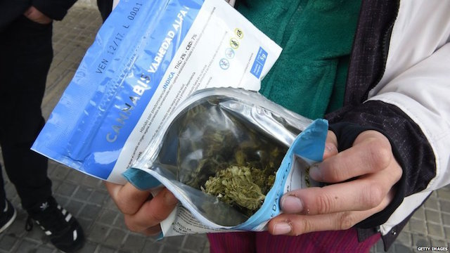 Uruguay legalización marihuana
