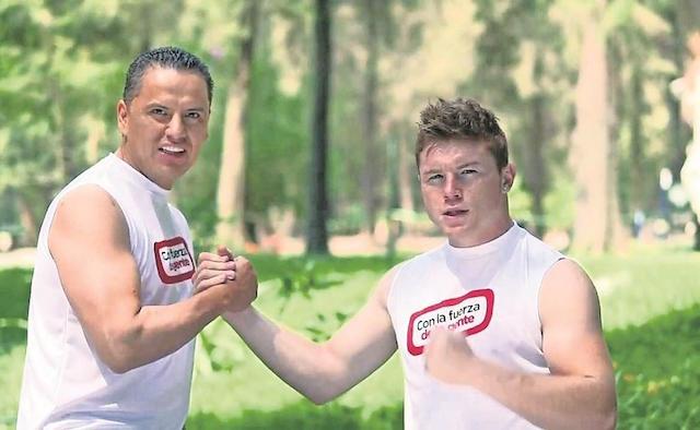 Canelo y Roberto Sandoval Nayarit