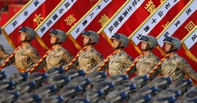 China ejército masturbarse