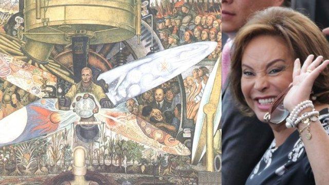 INBA oculta obras de Elba Esther