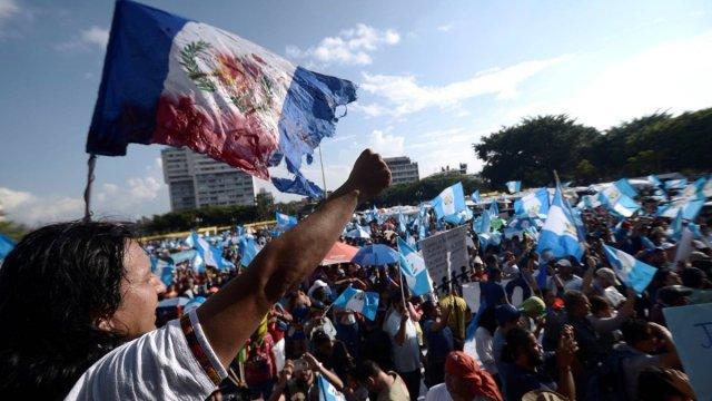 guatemala, jimmy morales, presidente guatemala, renuncia jimmy morales, protestas guatemala