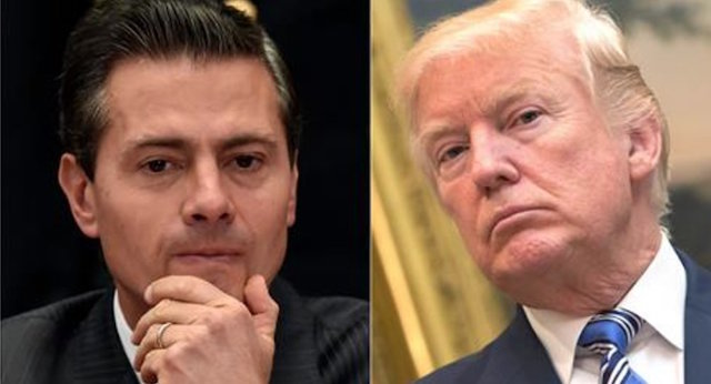 Peña Nieto y Trump baja popularidad