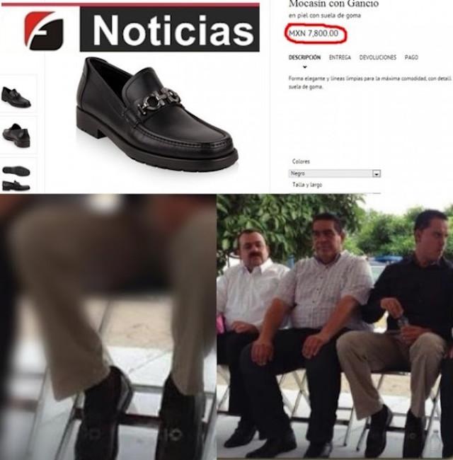 Roberto Sandoval zapatos