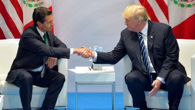 Trump y Peña Nieto presidentes con baja popularidad