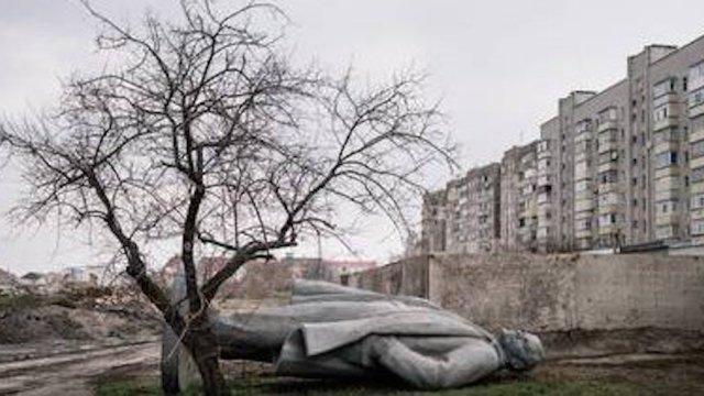 Ucrania implementó política para retirar estatuas de Lenin