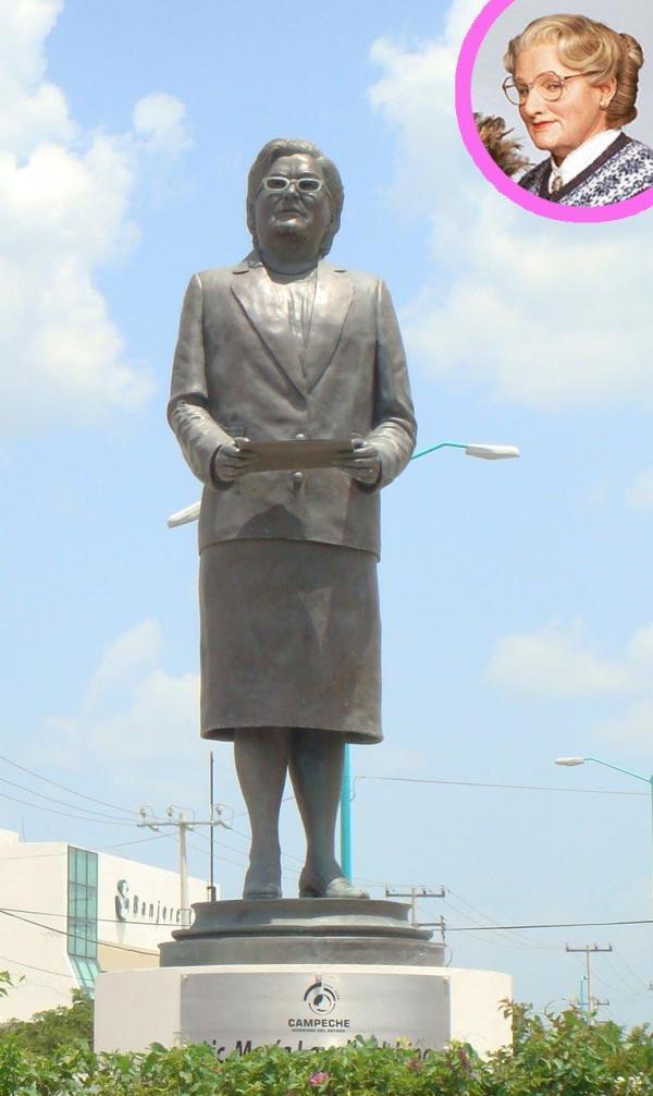 Mrs Doubfire y su legado milenario en México