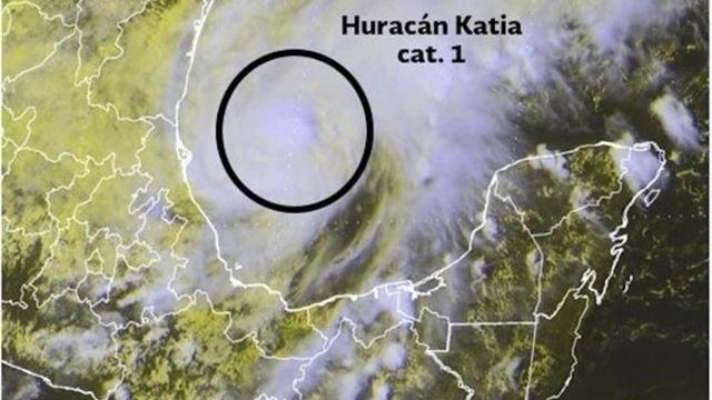 huracan, katia, huracan katia, alerta, lluvias, inundaciones, veracruz