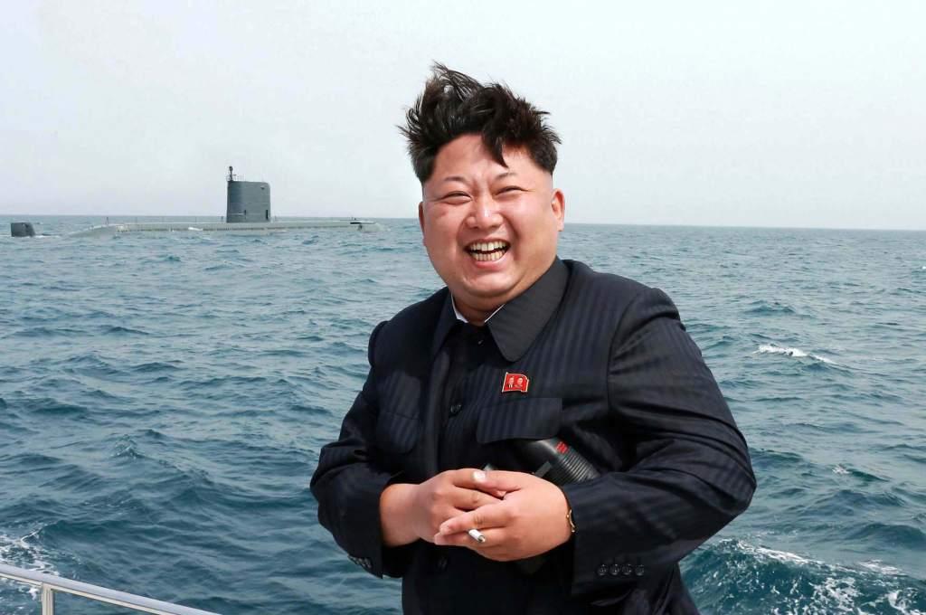 Kim Jung-un cuando le dijeron que habría bufet en el infierno