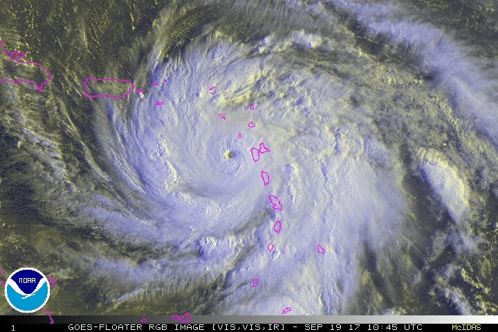 María golpea Dominica y desaparece del mapa