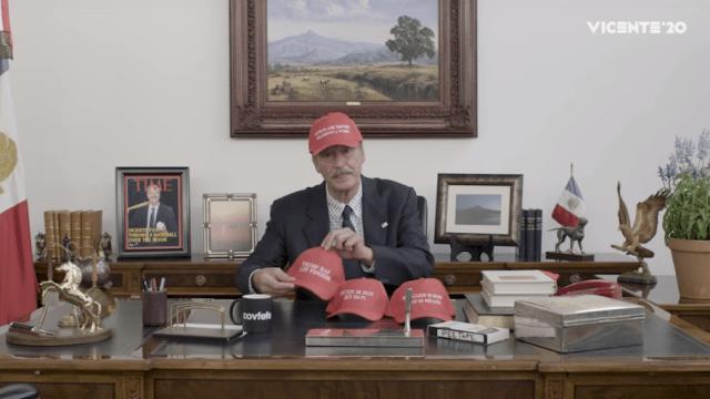 Vicente Fox campaña presidencia Estados Unidos Trump