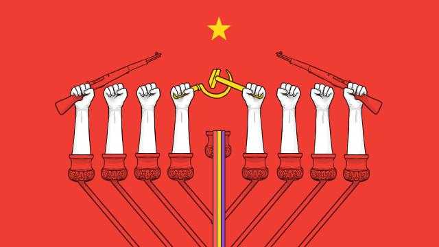 Judíos, comunistas y exiliados en la Guerra Civil española