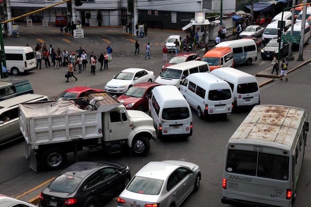 transporte público Edomex aumento tarifas