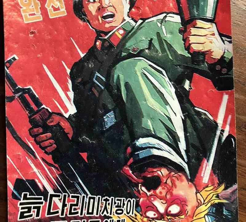 Propaganda anti Trump de Corea del Norte