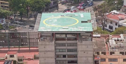 NUevo León 238, un helipuerto que hace peligrar vidas