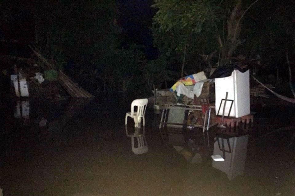 Río se desborda en Unión Hidalgo, municipio golpeado por 7S