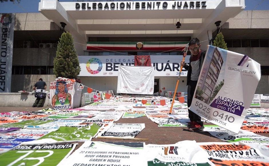 secuelas del sismo y ¿corrupción inmobiliaria? benito juárez