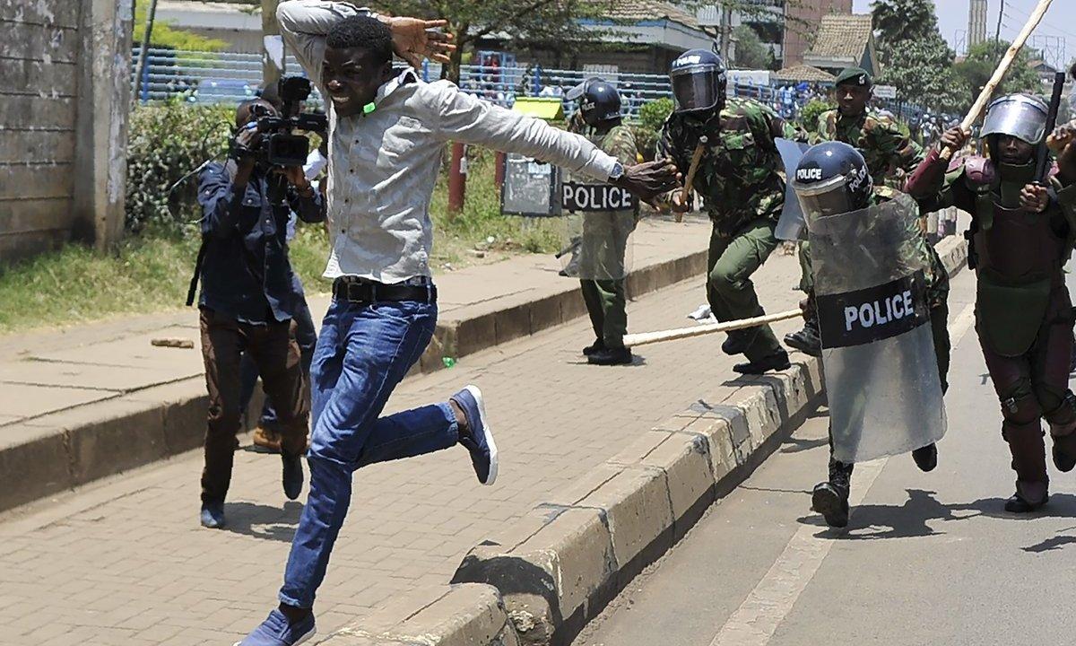 Elecciones en Kenia dejan 37 muertos, se repite ronda de votación