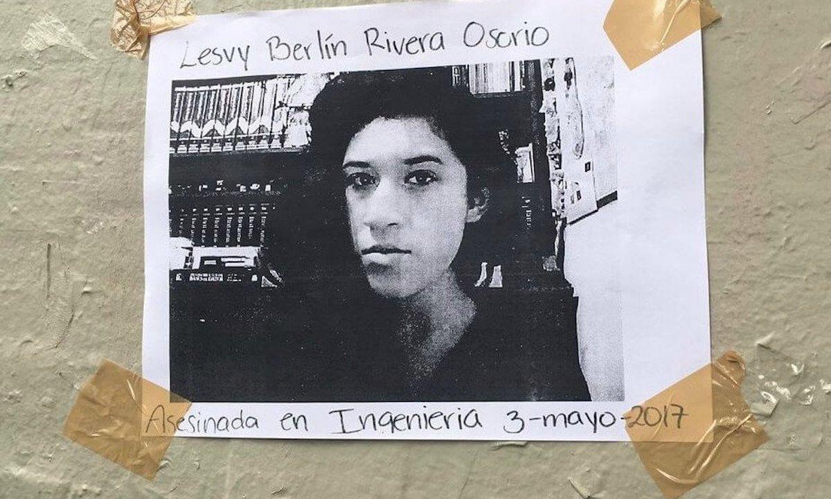feminicidios lesvy berlin es reclasificado por tribunal