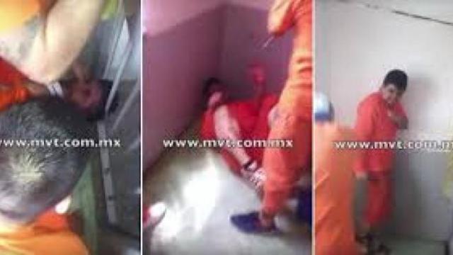 videos de torturas en el penal Xochiaca Neza