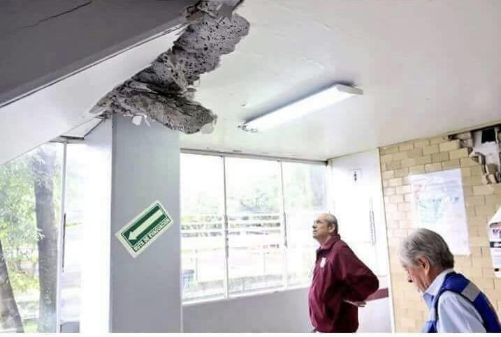 Daños en el IPN y autoridades irresponsables: sismo en el Poli