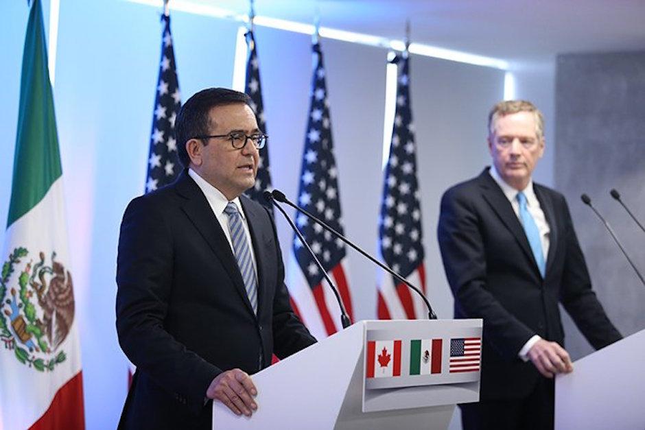 Guajardo México retira apoyo Estados Unidos sale TLCAN