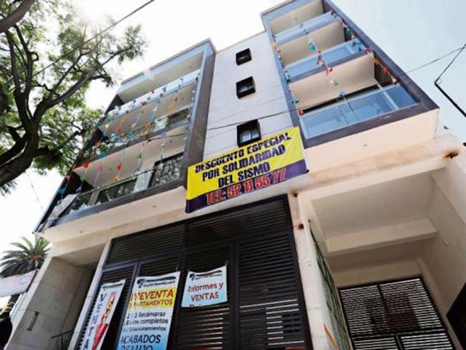 estafadores inmobiliarios se aprovechan de damnificados por sismo en CDMX