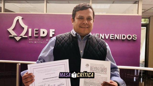 Director jurídico y candidato independiente sigue en juicio en CDMX