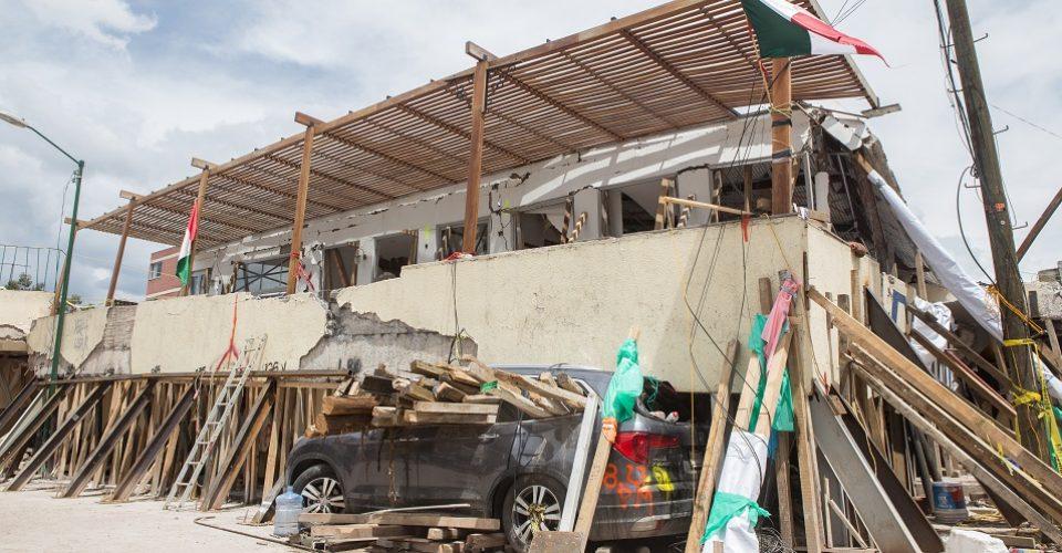 sismo investigación Garrido documentos papeles CDMX delitos derrumbe