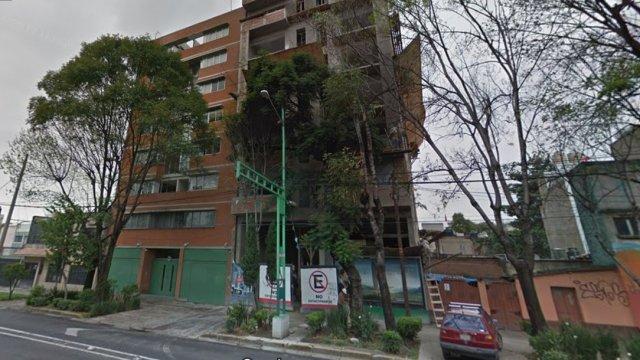 Eje Central 418, edificio dañado en sismo 19S