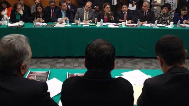 Aprobado en comisiones dictamen de Ley de Seguridad Interior